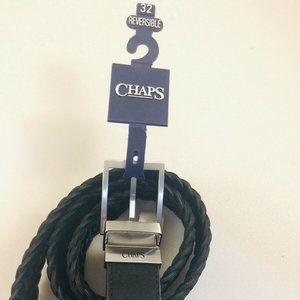 CHAPS Reversible Men's Black Belt Size 32